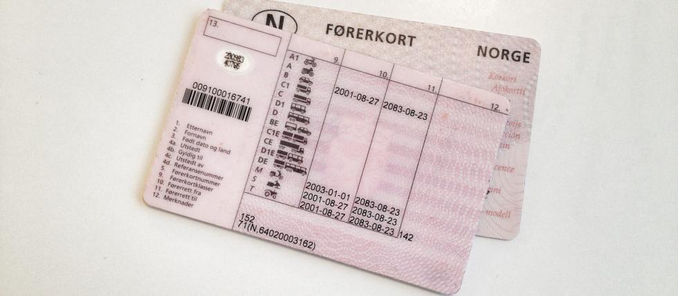 inndragning av førerkort